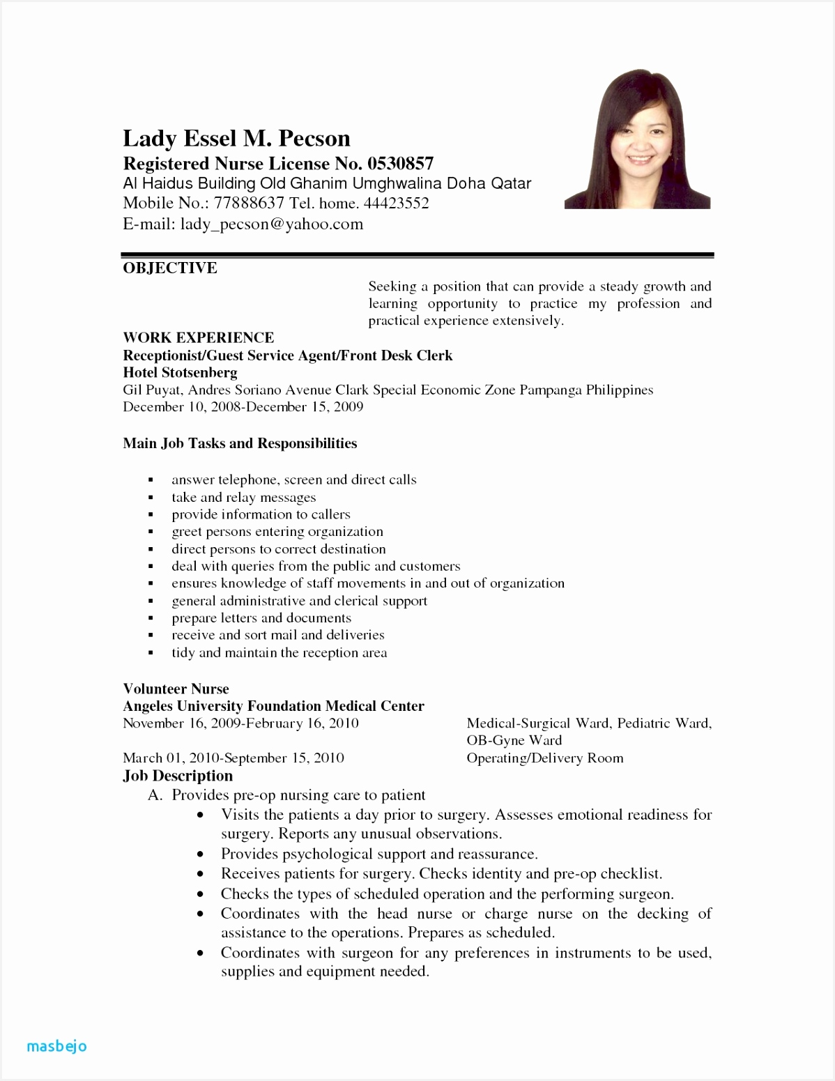 Sample Resume In Pdf For Freshers Valid Cna Resume Sample New Skills Lovely Bsw 0d Best Format Template 155111987urjw