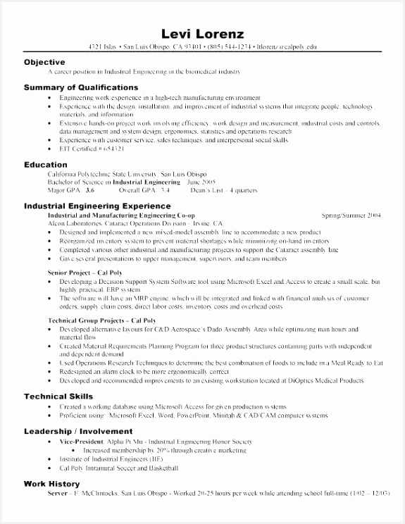 Customer Service Resume Examples Beautiful Example Resume Objectives Scholarship Resume 0d Professional Example 744575awIei