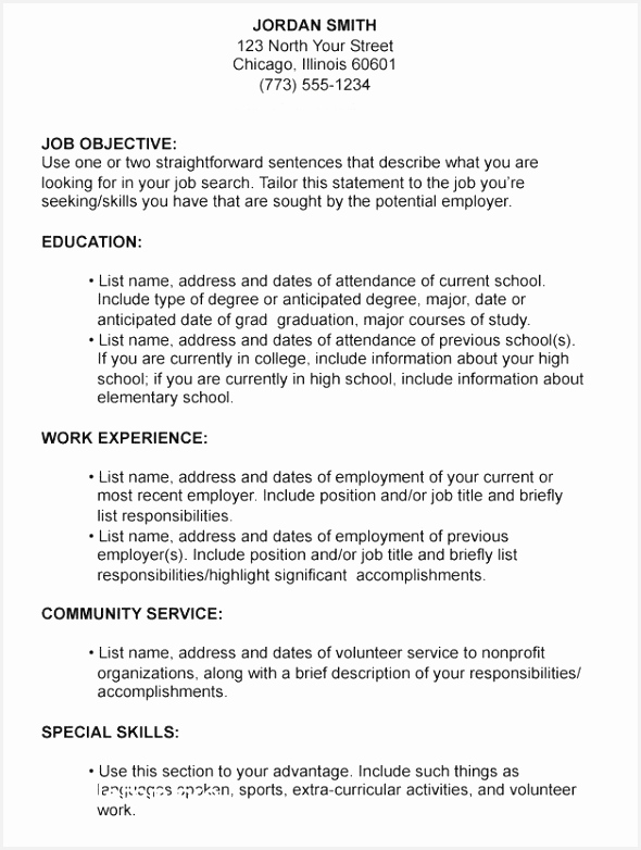 Writing A Great Resume Best Writing A Great Resume Luxury format A Professional Resume Best 7825908hgeu