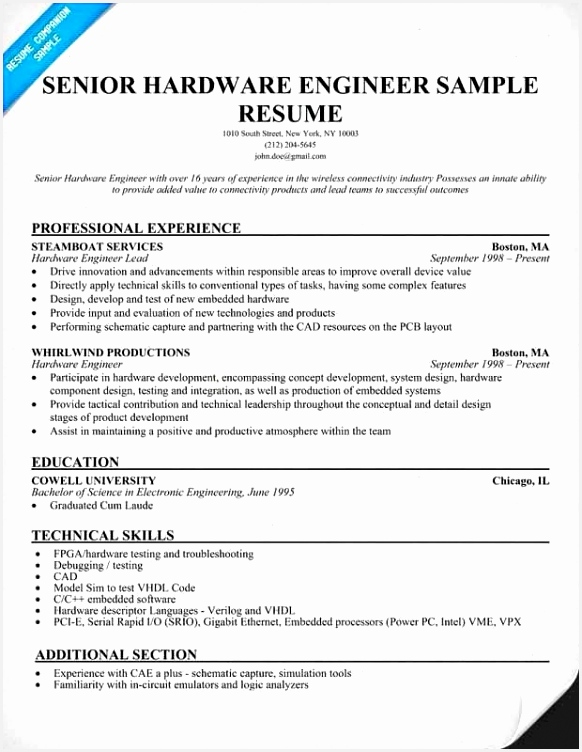 Technical Resume Example Rwxvs Best Of software Engineering Resume – Salumguilher Of 7 Technical Resume Example