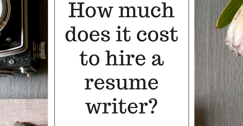 Resume Writing Service Costs How Much Does It Cost To Hire A Resume Writer