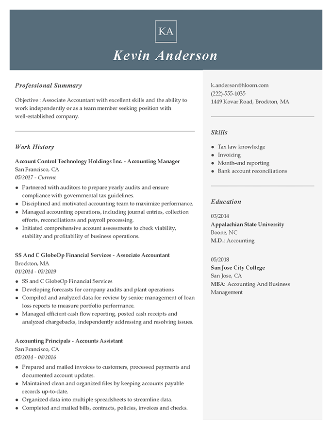 2020 S Best Resume Examples For Every Industry Hloom