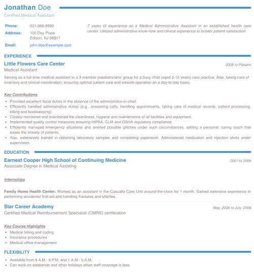 Resume Maker Create A Standout Professional Resume And Cv