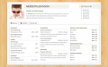 Freelance Resume Template